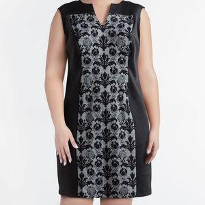 Gorgeous Lace Panel Sheath Dress